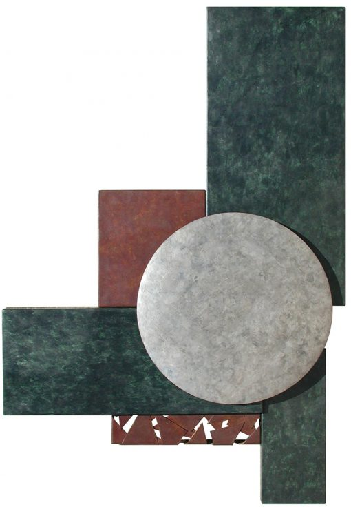 Wallpiece 03.17 by David M Bowman (Metal Wall Sculpture) | American Artwork