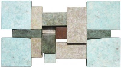 Wallpiece 06.11 by David M Bowman (Metal Wall Sculpture) | American Artwork