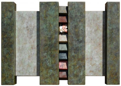 Wallpiece 06.23 by David M Bowman (Metal Wall Sculpture) | American Artwork