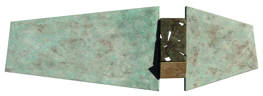 Wallpiece 07.01 by David M Bowman (Metal Wall Sculpture) | American Artwork