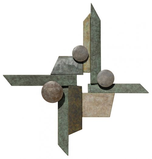 Wallpiece 07.09 by David M Bowman (Metal Wall Sculpture) | American Artwork