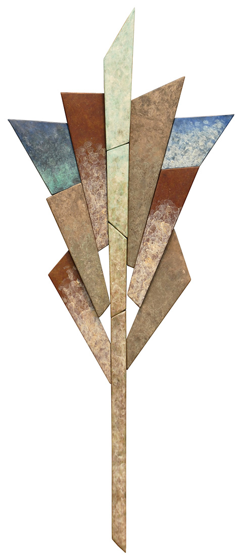 Wallpiece 08.04 by David M Bowman (Metal Wall Sculpture) | American Artwork