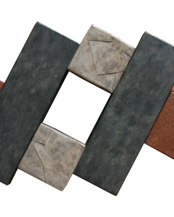 Wallpiece 09.07 by David M Bowman (Metal Wall Sculpture) | American Artwork