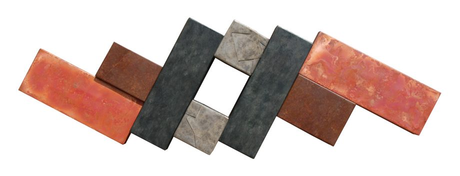 Wallpiece 09.07 by David M Bowman (Metal Wall Sculpture) | American Artwork