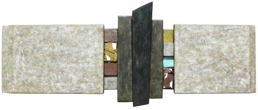 Wallpiece 11.01 by David M Bowman (Metal Wall Sculpture) | American Artwork