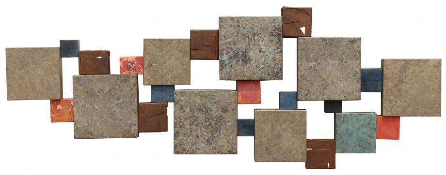 Wallpiece 12.01 by David M Bowman (Metal Wall Sculpture) | American Artwork