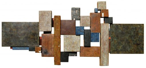 Wallpiece 13.04 by David M Bowman (Metal Wall Sculpture) | American Artwork