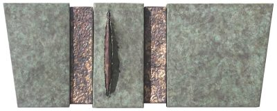 Wallpiece RCB 08.05 by Reed C Bowman (Metal Wall Sculpture) | American Artwork