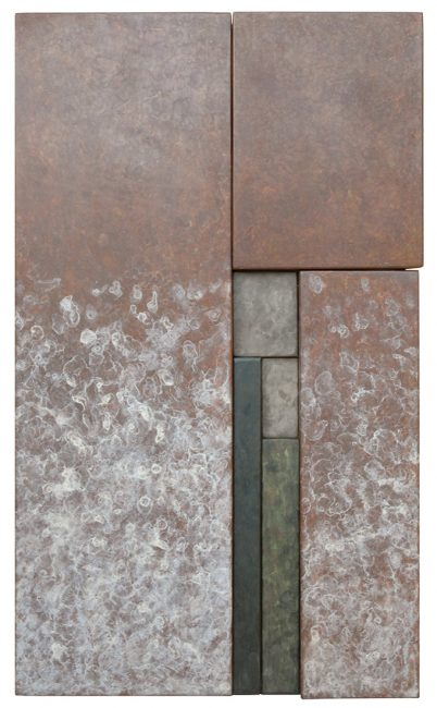 Wallpiece RCB 17.01 by Reed C Bowman (Metal Wall Sculpture) | American Artwork