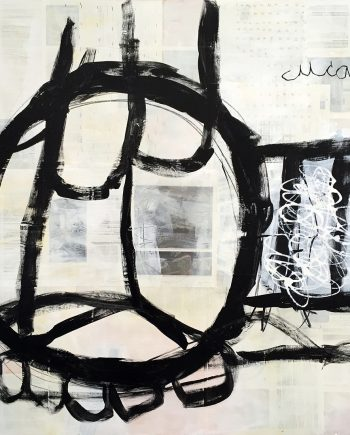 Cuca by Silvia Poloto (Abstract Mixed Media Painting) | American Artwork