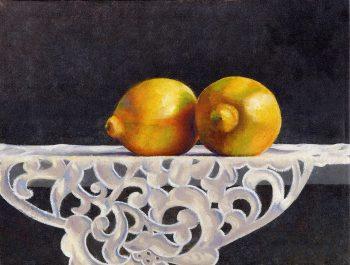 Lemons by Rebecca Gabriel (Giclée Print on Canvas) | American Artwork