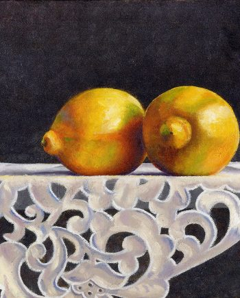 Lemons by Rebecca Gabriel (Giclée Print on Canvas) | American Artwork