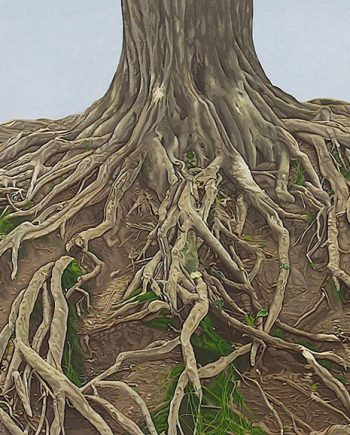 Roots by Rebecca Gabriel (Giclée Print on Canvas) | American Artwork