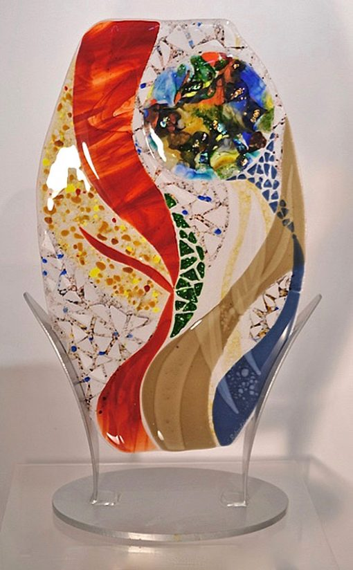 Synergy by Bonnie Rubenstein (Art Glass Sculpture) | American Artwork