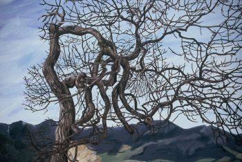 White Oak by Rebecca Gabriel (Oil Painting) | American Artwork