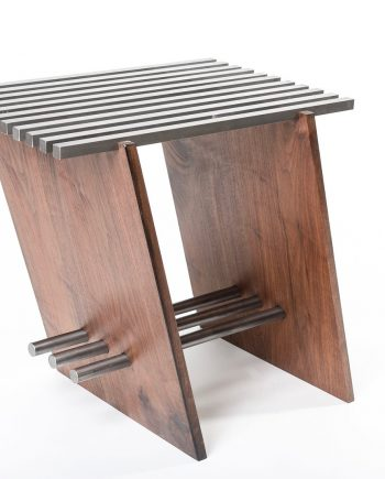 Locksaw Side Table by Wes Walsworth (Custom Furniture) | American Artwork