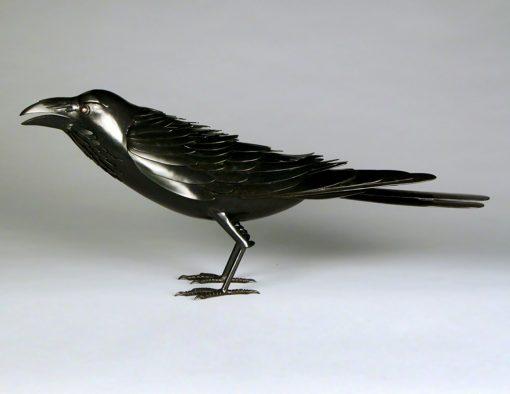 Raven by Charles McBride White (Bronze Sculpture) | American Artwork