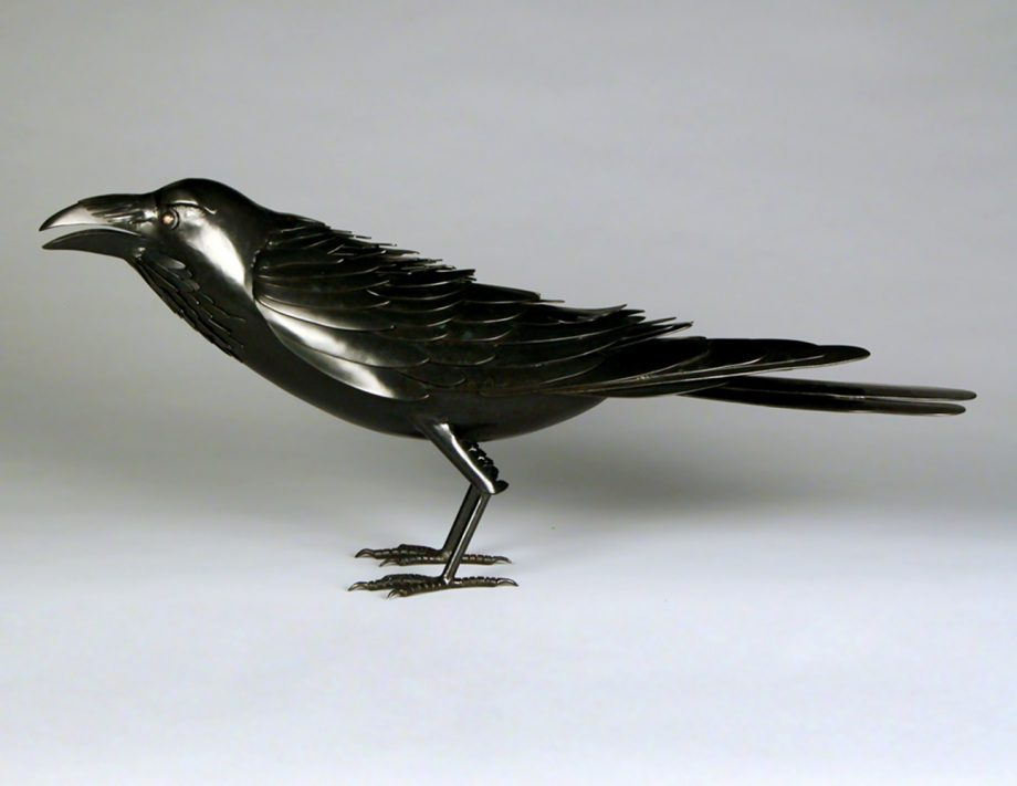Raven by Charles McBride White (Bronze Sculpture) | American Artwork