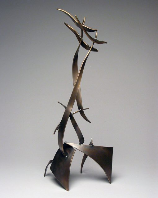 Upward Thrust by Charles McBride White (Bronze Sculpture) | American Artwork