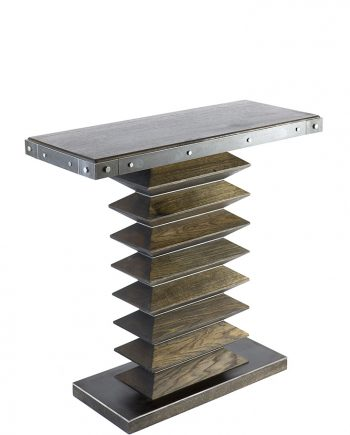 Zig Zag Console by Wes Walsworth (Custom Furniture) | American Artwork