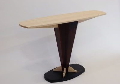 Bamboo Console Table by Erik Wolken